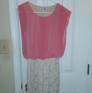 SPEECHLESS layered dress